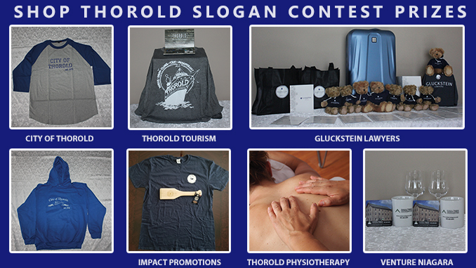 Shop Thorold Slogan Contest Prizes
