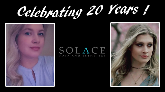 Solace Hair Esthetics 20th anniversary Shop Thorold
