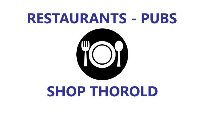 restaurants pubs - shop thorold