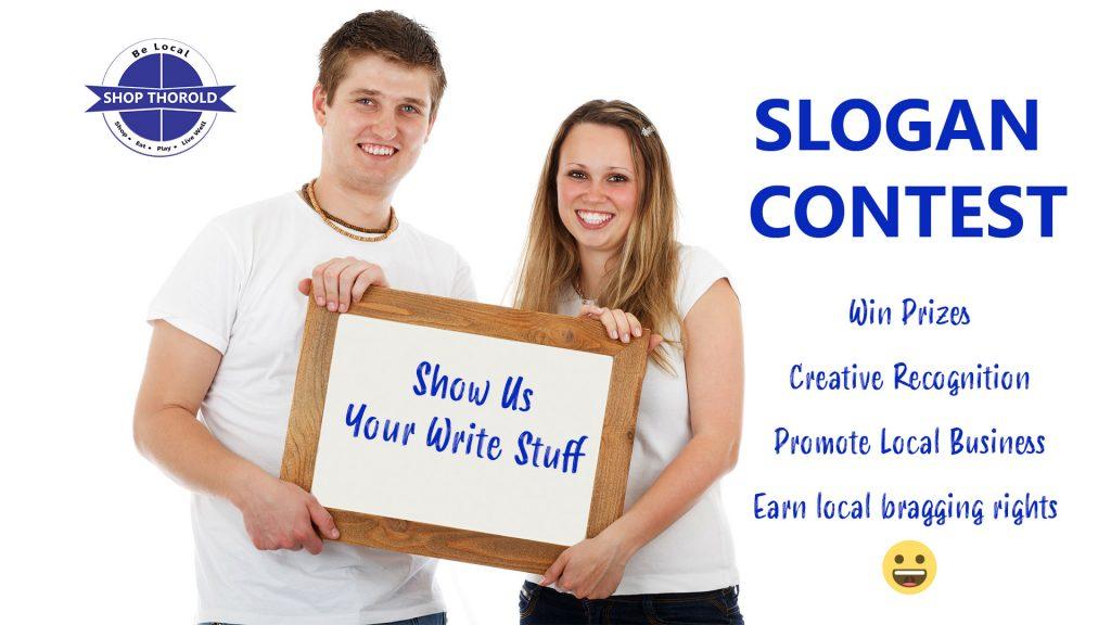 slogan contest shop Thorold